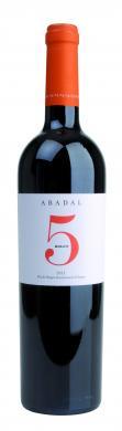 Abadal 5 Merlot Pla de Bages DO 2017 Abadal