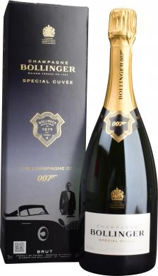 Special Cuvee James Bond 007 AOC Champagne Bollinger in GP