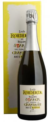 Brut Nature Edition Philippe Starck Champagne 2009 Champagne Louis Roederer