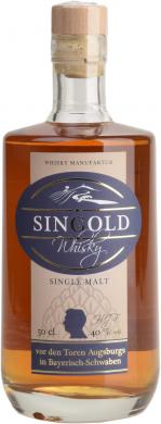 SinGold Whisky 40% SinGold
