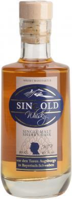 SinGold Single Malt Sherry Finish 46% 0,2l SinGold