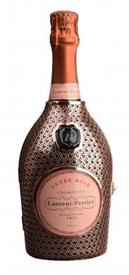Rose Brut Champagne AOC in Metallrobe Laurent-Perrier