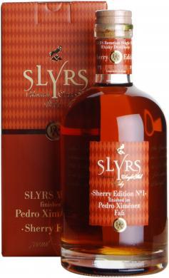Slyrs Pedro Ximenez Fasslagerung Slyrs Destillerie