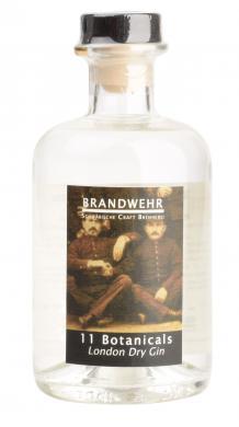 Brandwehr Gin  11 Botanicals   0,35 L Zott Destillerie