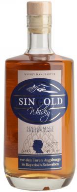 SinGold Single Malt Sherry Finish 46% SinGold
