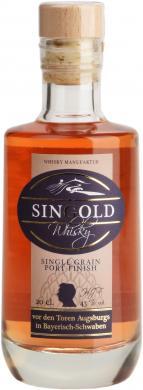 SinGold Grain Port Finish 43% 0,2 L SinGold